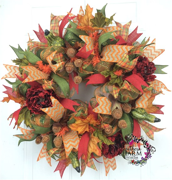 What colors to use in wreaths