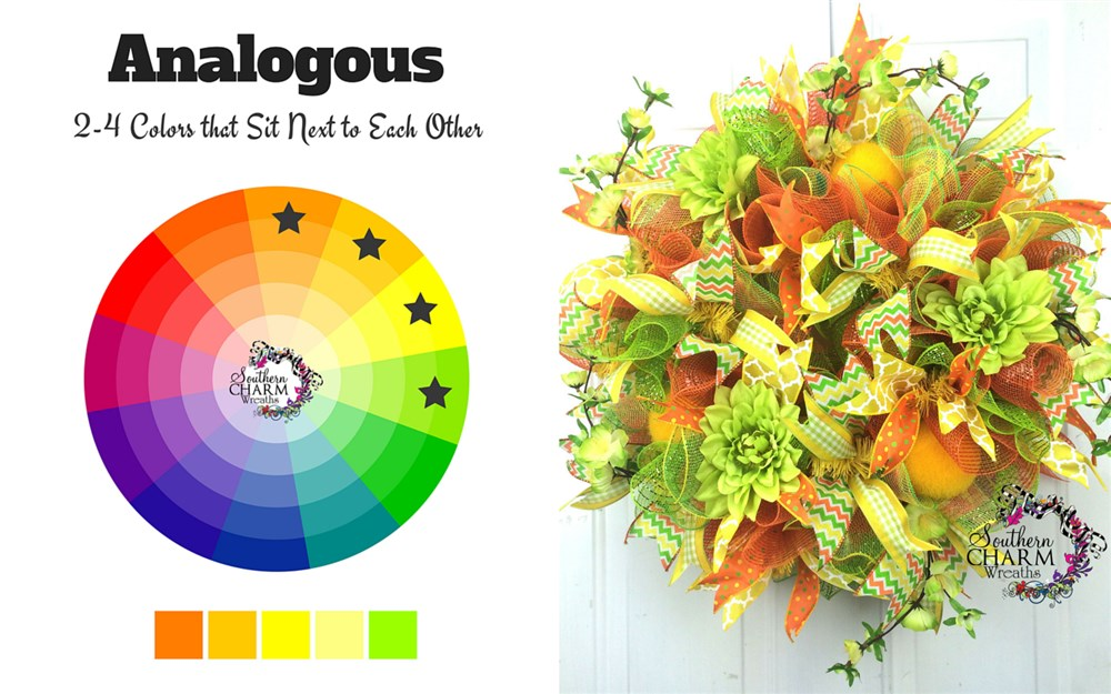 Wreath Making How to Choose Colors