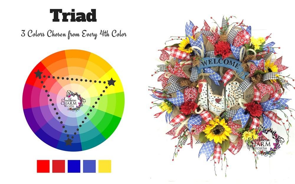 Wreaths - How to pick your colors