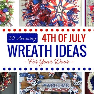 Amazing 4th of July Wreaths