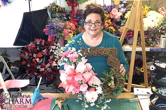 How To Make A Mothers Day Wreath