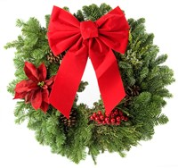 How to Make Silk Flower Christmas Wreath