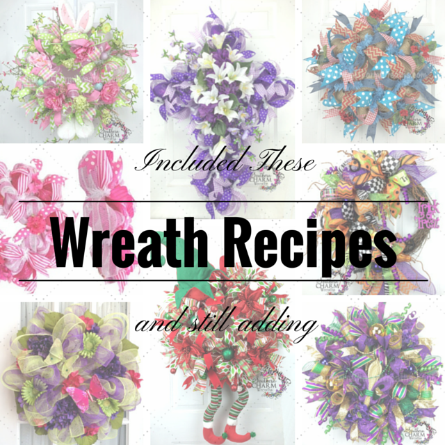 How to master the deco mesh wreath