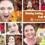 Hobby Lobby Fall Haul 2016 & Sign Tips for Your Wreaths