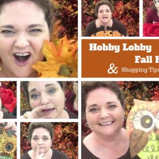 Hobby Lobby Fall Haul 2016 & Shopping Tips for Your Wreaths