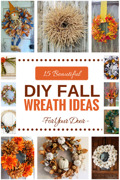 15 Beautiful DIY Fall Wreath Ideas by www.southerncharmwreaths.com