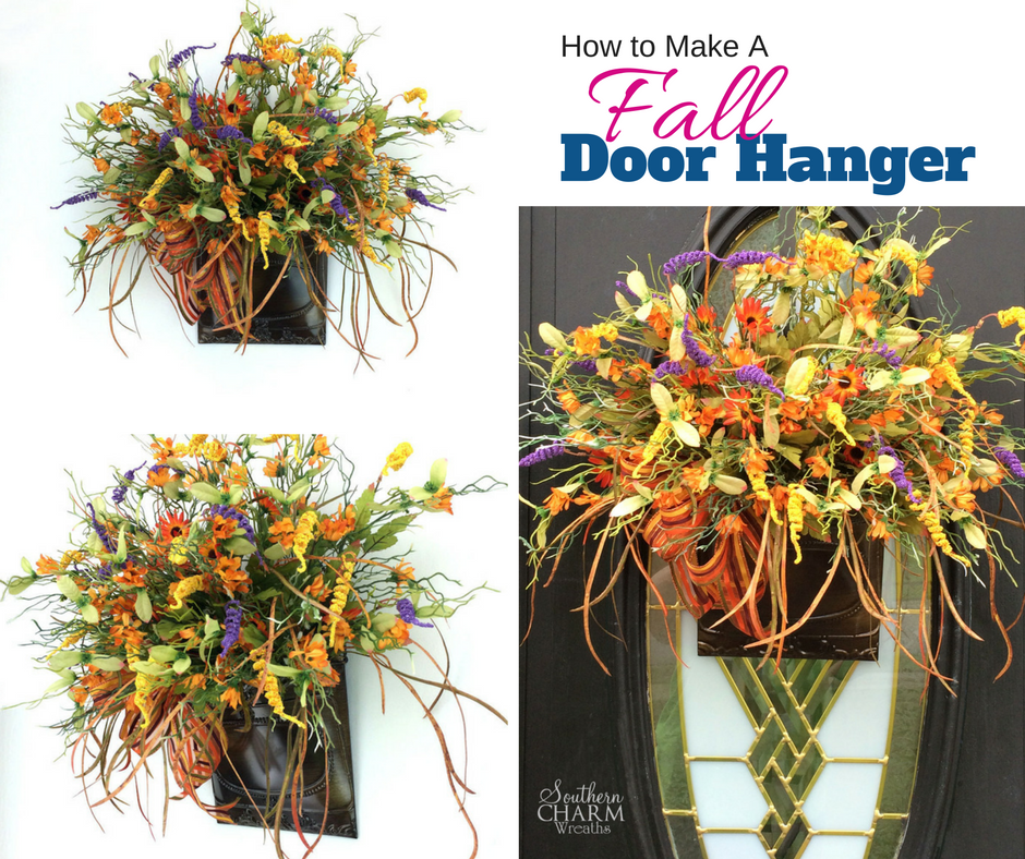 Quick Easy Tips On How To Make A Fall Door Hanger