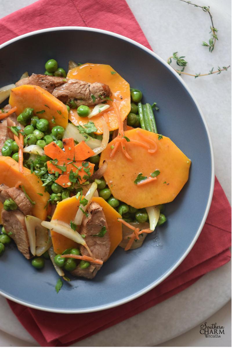 Sweet Potato and Turkey
