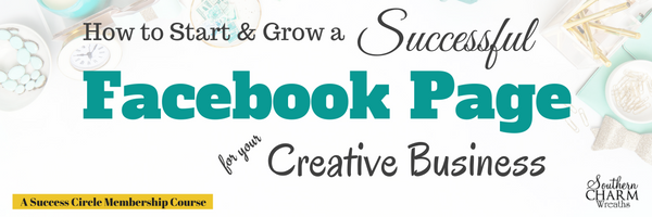 Creative Business Training How to Start and Grow a Successful Facebook Business Page - Learn to ways to make extra money online with your creative business.