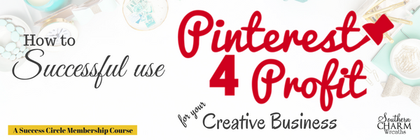 Creative Business Training with Julies Pinterest 4 Profits - Learn to ways to make extra money online with your creative business.