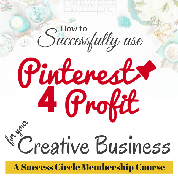 A course on how to use Pinterest for your creative business by Julie Siomacco of Southern Charm Wreaths