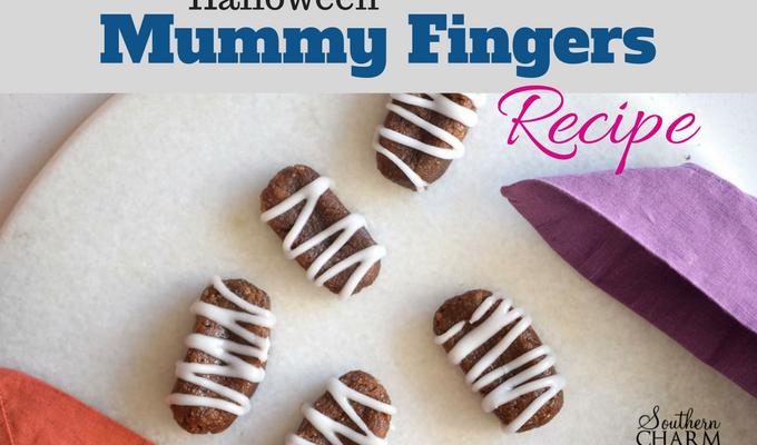 Halloween Mummy Fingers Recipe