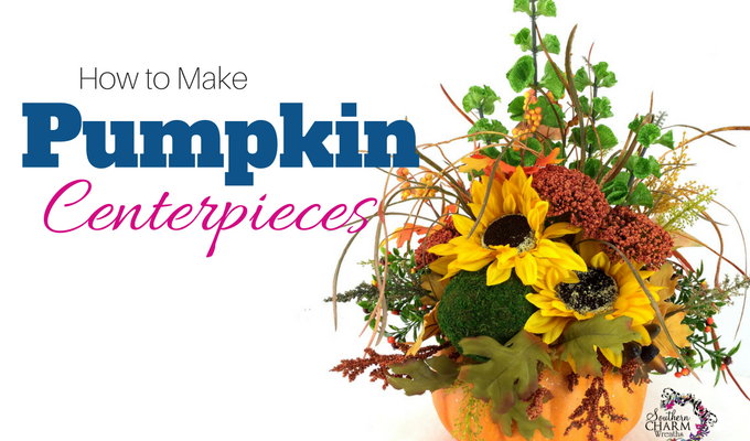 How to Make Pumpkin Centerpieces Video
