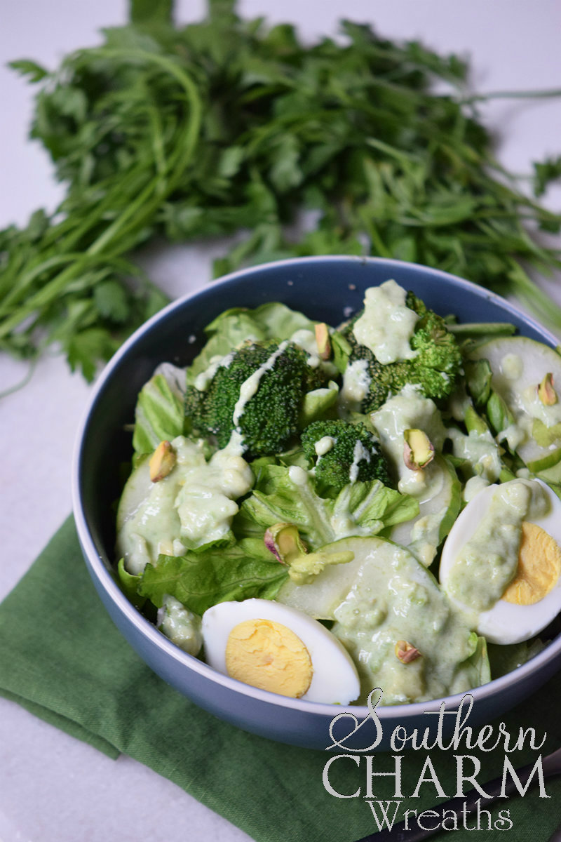 Packed Green Salad