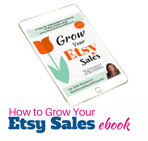 Grow Your Etsy Sales ebook by Julie Siomacco