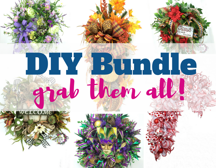 DIY Bundle How to Make Holiday Wreaths