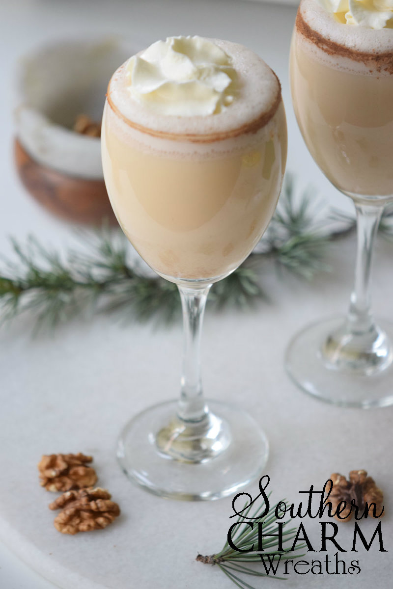 Gingerbread Mocktail Recipe by Southern Charm Wreaths