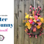 How to Make an Adorable Easter Bunny Door Wreath