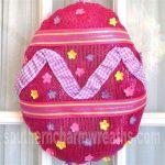 How To Make a Unique Deco Mesh Easter Egg Wreath