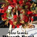 How to Make Your Own Wreath Easel
