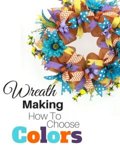 Wreath Making How to Choose Colors by Southern Charm Wreaths