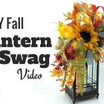 How to Make a Fall Lantern Swag Video