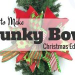 How to Make A Funky Bow -Christmas Edition