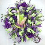 Fun Deco Mesh Easter Wreath Ideas