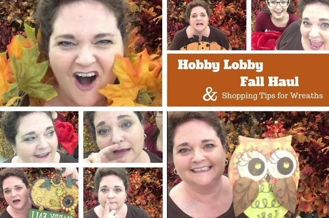 Hobby Lobby Fall Haul 2016 & Shopping Tips for Your Wreaths