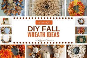 15 Beautiful DIY Fall Wreath Ideas by www.southerncharmwreaths.com/blog