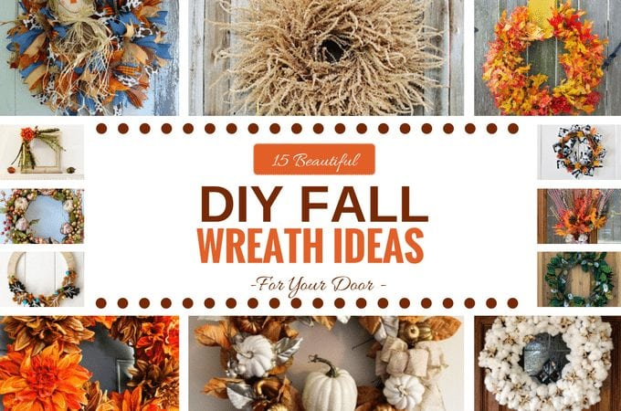 15 Beautiful DIY Fall Wreath Ideas by www.southerncharmwreaths.com/blog