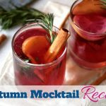 Super simple warm fall mocktail using applies and cranberries by www.southerncharmwreaths.com/blog