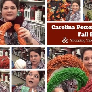 My Carolina Pottery Fall Haul & Shopping for Supplies by www.southerncharmwreaths.com/blog