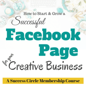 How to grow a successful Facebook Business Page for your Creative Business.