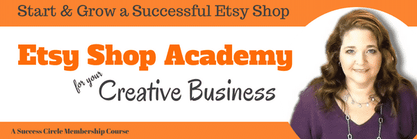 Etsy Shop Academy for Your Creative Business