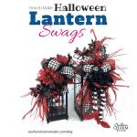 How to Make Halloween Lantern Swags