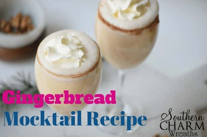 Gingerbread Mocktail