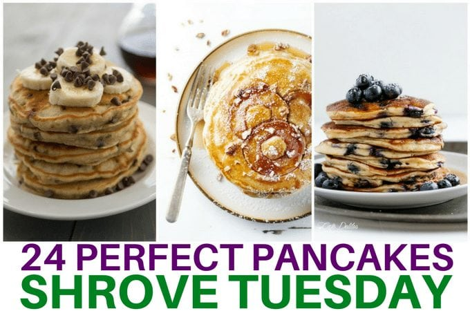 24 perfect pancakes for shrove tuesday