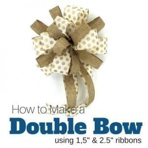 9 ways to make a bow video southern charm wreaths. Black Bedroom Furniture Sets. Home Design Ideas