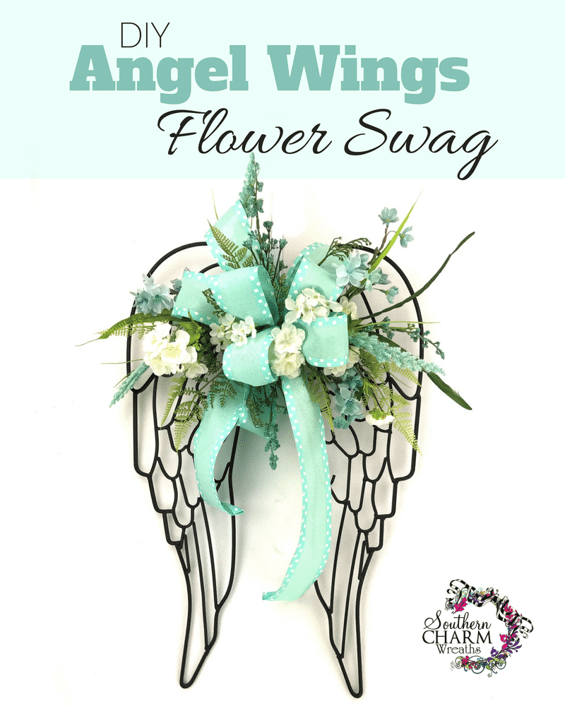 DIY Angel Wings Swag by Southern Charm Wreaths
