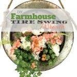 Let's Make a Farmhouse Tire Spring Wreath