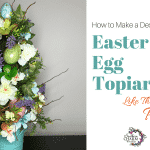 How to Make a Designer Easter Egg Topiary Like the Pros