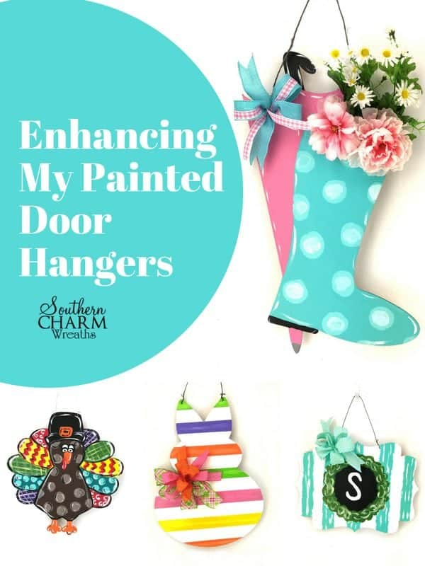 Enhancing My DIY Painted Door Hangers