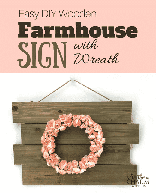 DIY Wooden Farmhouse Sign