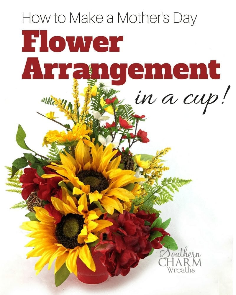 How to Make a Flower Arrangement in a Cup