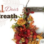 DIY Fall Door Wreath Idea
