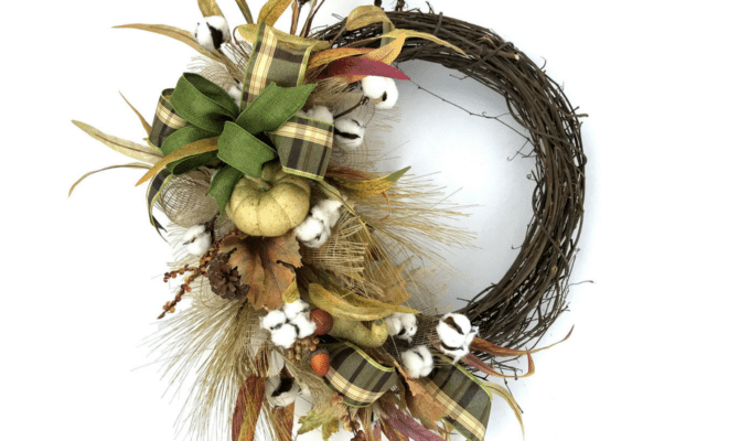 Quick 30 Minute Fall Wreath Tutorial