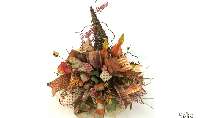 DIY Fall Scarecrow Hat Centerpiece For Your Table