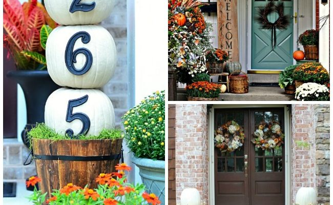 15 Gorgeous Fall Porches to Inspire You
