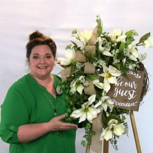 Step by Step video on how to make a Southern Magnolia Wreath by Southern Charm Wreaths